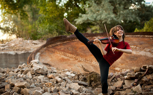 Lindsey Stirling wallpaper titled Lindsey