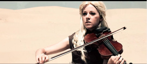 Lindsey Stirling wallpaper with a violist called Lindsey
