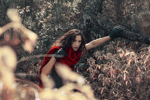 Little Red Rider Hood/The নেকড়ে