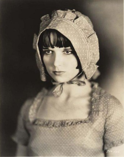 "Louise Brooks wallpaper probably containing a bonnet titled Louise Brooks in ""Beggars of Life"""