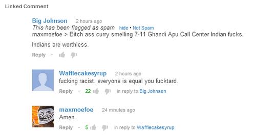 MAXMOEFOE REPLIED TO MY コメント +HE IS NOT RACIST!!