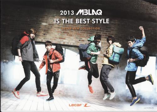 MBLAQ for LECAF's 2013