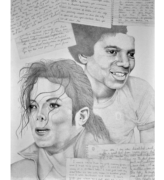 MJ Tribute Portrait