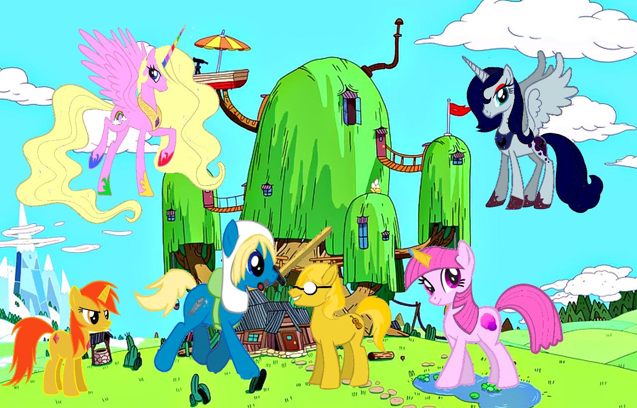 MLP: FM + Adventure time
