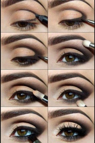 Making of Smokey Eye Makeup