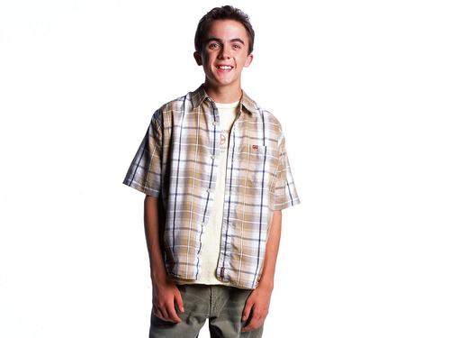 Malcolm In the Middle wallpaper possibly with an outerwear, flannel, and long trousers called Malcolm