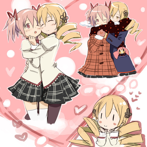 Puella Magi Madoka Magica Images Mami And Madoka Wallpaper And Background Photos