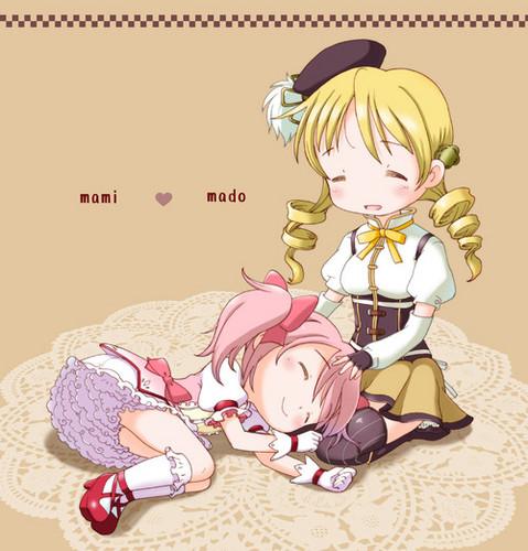 Mami and Madoka