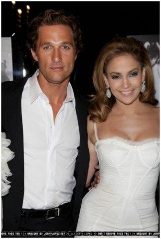 Matthew McConaughey & Jennifer Lopez - 2008