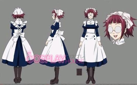 Meyrin black butler cosplay