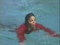 Michael After Being Pushed In The Pool By Macaulay Culkin - michael-jackson photo