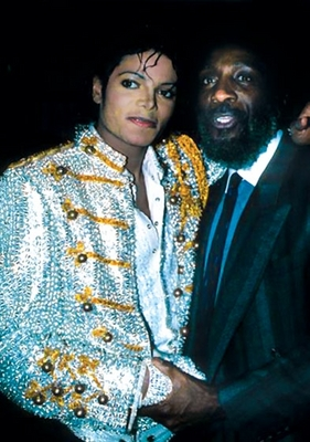 Michael And Comedian/Civil Rights Activist, Dick Gregory