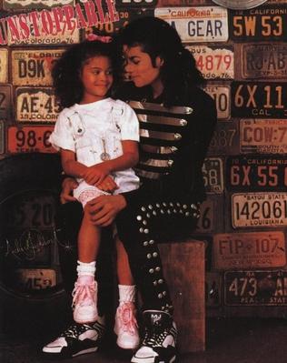 Michael And His Niece, Brandi Jackson