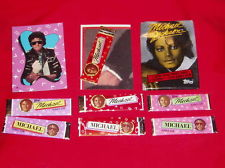 Michael Jackson Trading Cards With Chewing Gum