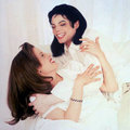Michael and his ex - michael-jackson photo