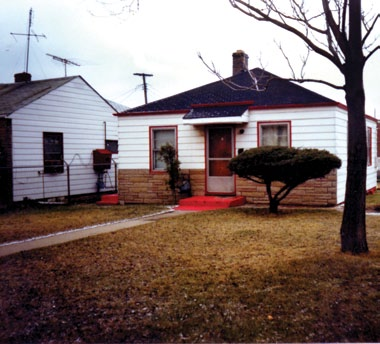 Michael's Childhood Place Of Residence At 2300 Jackson 거리 In Gary, Indiana