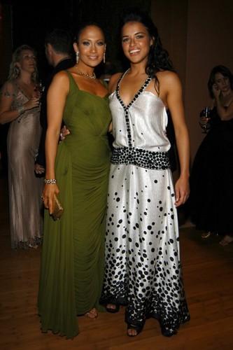Michelle Rodriguez & Jennifer Lopez - 2006