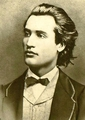 Mihai Eminescu famous romanian people men writers poets  - romania photo