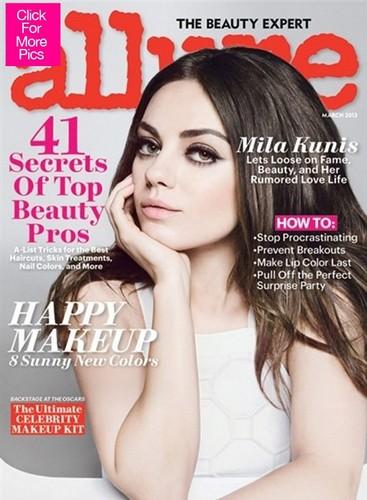 Mila - Allure Magazine (March 2013)