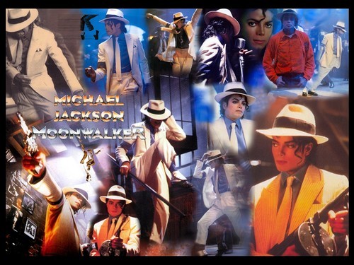 Michael Jackson wallpaper probably containing anime called Moonwalker