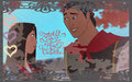 Mulan & Shang - disney-princess wallpaper