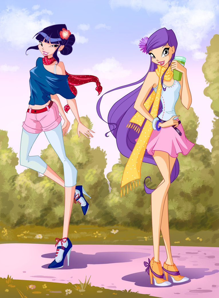 The winx club musa and tine from season5