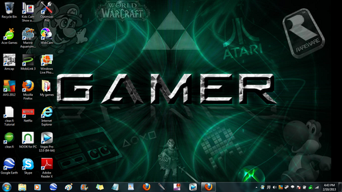 My screen for some reason