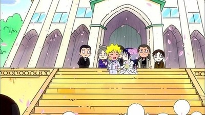 Fairy Tail vs. Naruto wallpaper entitled N@ruto <3