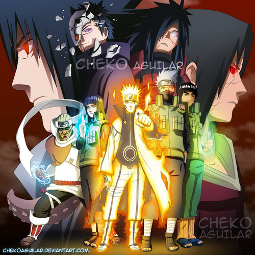Uzumaki Naruto (Shippuuden) Hintergrund probably containing Anime called Naruto