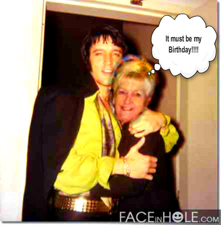 Nan and Elvis