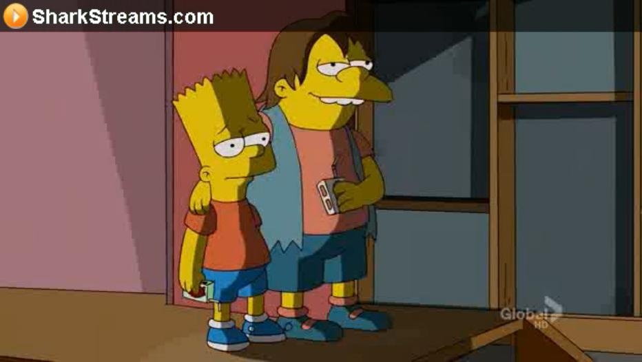Nelson and Bart Shading