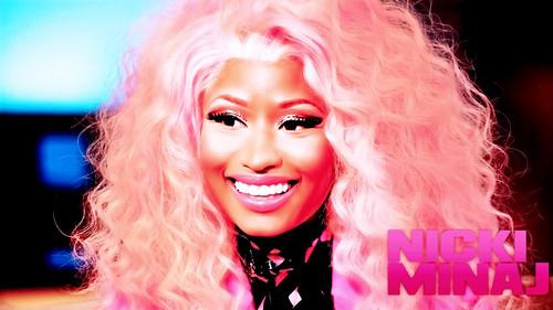 Nicki Minaj wallpaper probably with a portrait titled Nicki by DaVe