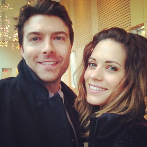 Noah শিম and Lyndsy Fonseca