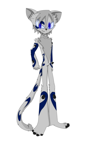 Nova Paradox (Mobian Me) Full body form