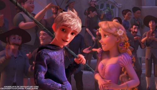 OTP. Rapunzel/Jack Frost