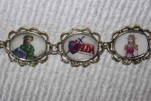 Ocarina of Time Main Characters bracelet