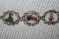 Ocarina of Time Main Characters bracelet - the-legend-of-zelda fan art