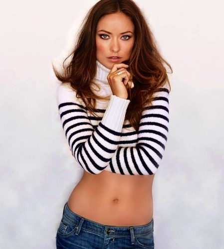 Olivia Wilde Belly Button