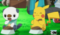 Oshawott & Pikachu