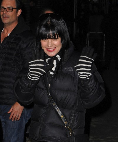 Pauley Perrette Arriving @ Late Zeigen With David Letterman - 04/02/2013