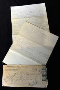 Personal Handwritten Letters From Marylin Monroe