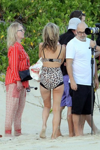 Photo shoot in St. Barts