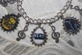 Pick Your Own Broadway Posters customized charm bracelet  - musicals fan art