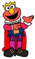 Prince Elmo - sesame-street fan art