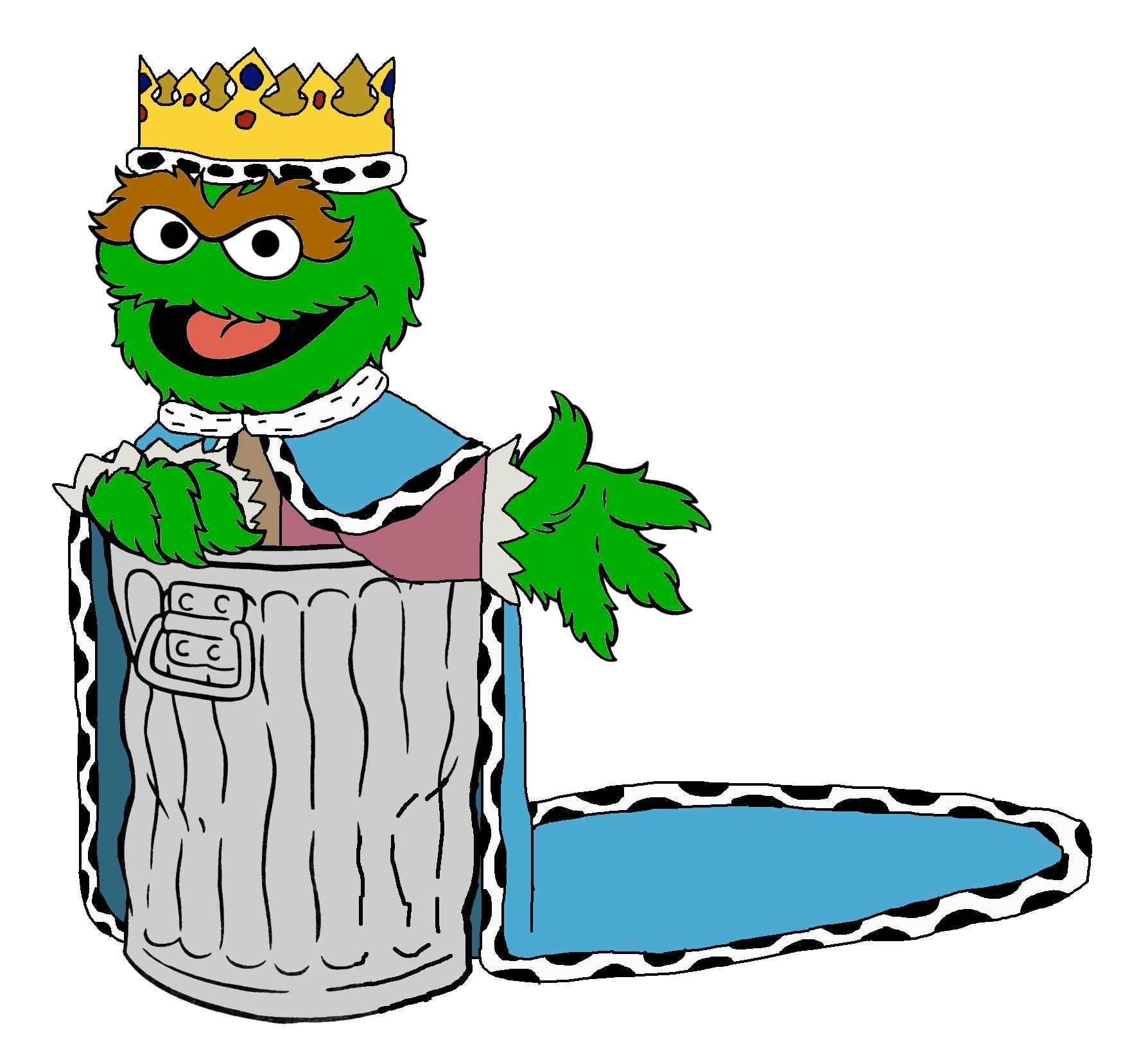 Sesame street prince oscar