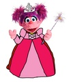 Princess Abby - sesame-street fan art