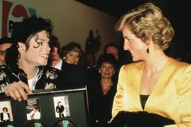 Princess Diana Backsatge With Michael Jackson Back In 1988