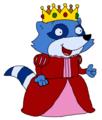 Princess Pinch Raccoon