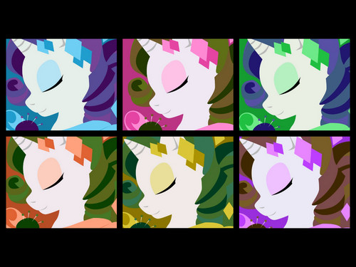 Rarity Collage