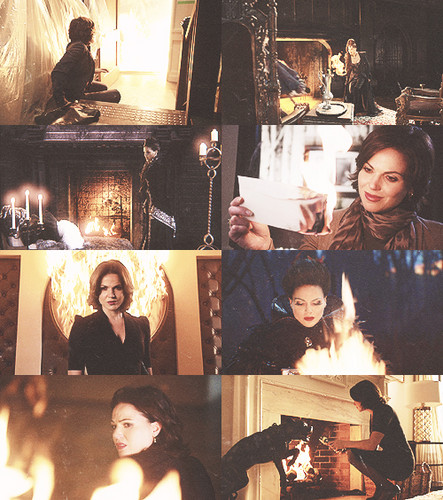 Regina Mills/Evil Queen + fuoco